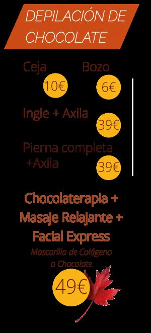 Depilación de Chocolate Texto.2